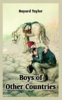 Cover of: Boys of other countries: stories for American boys
