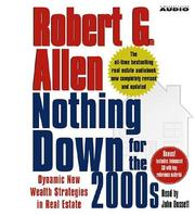 Cover of: Nothing Down for the 2000s | Robert G. Allen