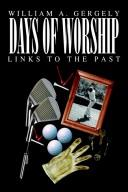 Cover of: Days of Worship