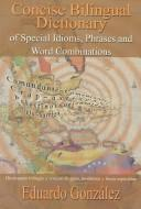 Cover of: Concise Bilingual Dictionary of Special Idioms, Phrases and Word Combinations