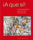 Cover of: A que sí! by