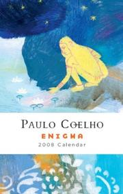 Cover of: Enigma: 2008 calendar