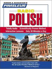 Cover of: Basic Polish | Pimsleur