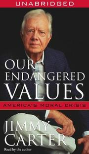 Cover of: Our Endangered Values |