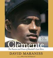 Cover of: Clemente | David Maraniss
