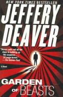 Cover of: Garden of beasts | Jeffery Deaver
