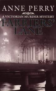 Cover of: Farrier's Lane (A Victorian Murder Mystery)
