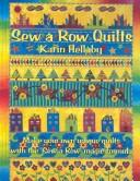 Cover of: Sew a Row Quilts