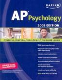 Cover of: Kaplan AP Psychology, 2008 Edition