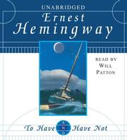 Cover of: To Have and Have Not | Ernest Hemingway
