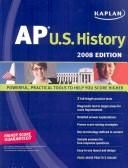 Cover of: Kaplan AP U.S. History, 2008 Edition