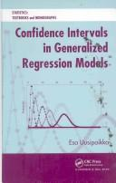 Cover of: Statistical Inference on General Regression Data