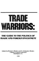 Cover of: Trade Warriors | Whalen R. Christopher