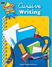 Cover of: Cursive Writing (Practice Makes Perfect)