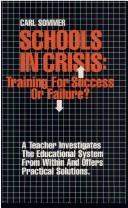 Cover of: Schools in Crisis | Carl Commer