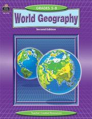 World geography, grades 5-8