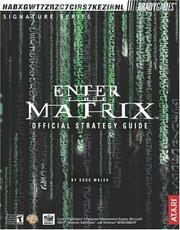 Cover of: Enter the Matrix by Doug Walsh