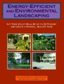 Cover of: Energy-efficient and environmental landscaping | Anne Simon Moffat