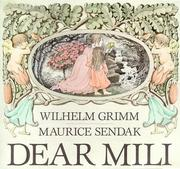 Cover of: Dear Mili | Wilhelm Grimm