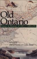 Cover of: Old Ontario |