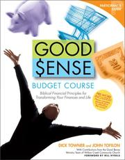 Cover of: Good Sense Budget Course Participant