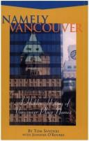 Cover of: Namely Vancouver | Tom Snyders