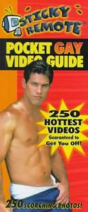 Cover of: Sticky Remote Pocket Gay Video Gde- P | David Alport