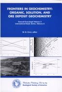 Cover of: Frontiers in geochemistry