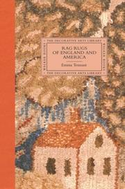 Cover of: Rag Rugs of England and America (The Decorative Arts Library) | Emma Tennant