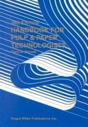 Cover of: Handbook for pulp & paper technologists