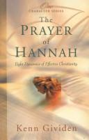 Cover of: The Prayer of Hannah