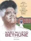 Cover of: Mary McLeod Bethune: Educator (Black Americans of Achievement)