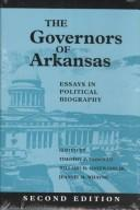 Cover of: The governors of Arkansas |