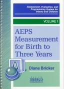 Aeps Measurement for Three to Six Years (Assessment, Evaluation, and Programming System Series) by