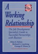 Cover of: A working relationship