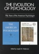 Cover of: The evolution of psychology |