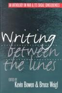 Cover of: Writing Between the Lines |