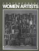Cover of: Contemporary women artists