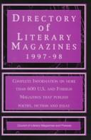 Cover of: Directory of Literary Magazines 1997-98 (Issn 0884-6006)