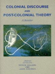 Cover of: Colonial Discourse and Post-colonial Theory | Patrick Williams