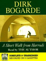 Cover of: Short Walk from Harrods (Word for Word Audio Books)
