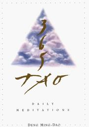 Cover of: 365 Tao | Ming-dao Deng