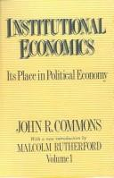 Cover of: The practice of economics