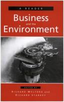 Cover of: Business And The Environment