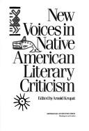 Cover of: NEW VOICES/NATIVE AMERN LIT
