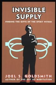 Cover of: Invisible Supply