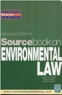 Cover of: Sourcebook on Environmental Law 2/e (Sourcebook)