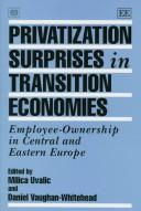 Cover of: Privatization surprises in transition economies |