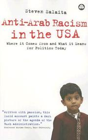 Anti-Arab Racism in the USA by Steven Salaita