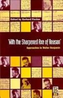 Cover of: `With the Sharpened Axe of Reason